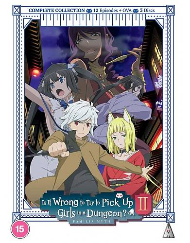 Is It Wrong To Try To Pick Up Girls In A Dungeon?! - Season 2 Collection (Hyb)