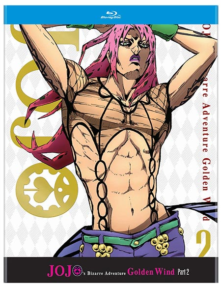 JoJo's Bizarre Adventure Golden Wind Set 2 (Hyb) Blu-ay