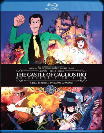 Lupin the 3rd: The Castle of Cagliostro (Hyb) Collector's Edition Blu-ray
