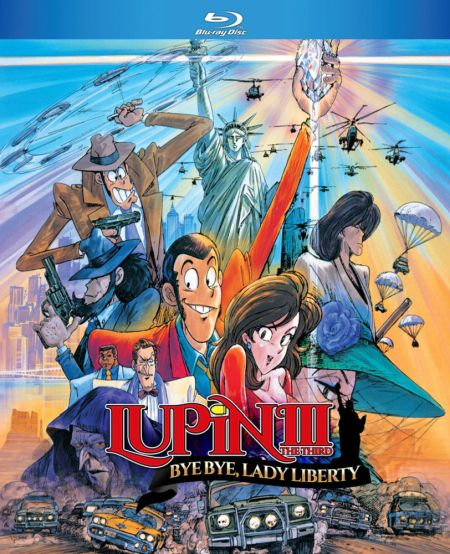 Lupin the 3rd: Bye Bye, Lady Liberty (Hyb) Blu-ray