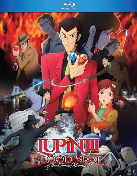 Lupin The 3rd Blood Seal Of The Eternal Mermaid (Hyb) Blu-ray