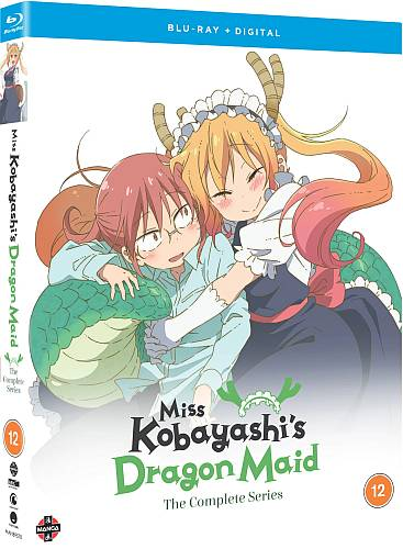 Miss Kobayashi's Dragon Maid - The Complete Series (Hyb) Blu-Ray