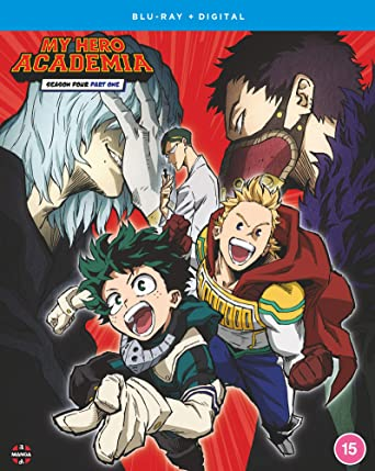 My Hero Academia: Season 4 - Part 1 (Hyb) Blu-Ray