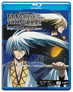 Nura: Rise of the Yokai Clan: Demon Capital Set 2 (Hyb) Blu-ray