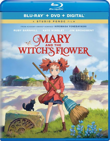 Mary and The Witch's Flower (Hyb) DVD/Blu-ray