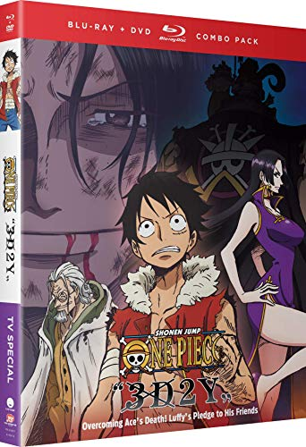 One Piece 3D2Y Overcoming Ace's Death! (Hyb) DVD/Blu-ray