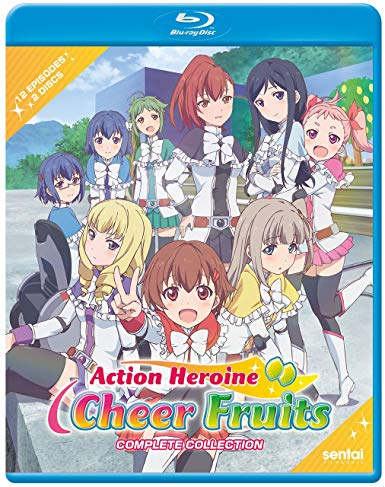Action Heroine Cheer Fruits (Hyb) Blu-ray