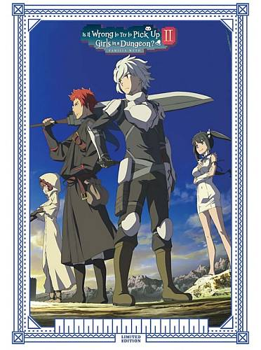 Is It Wrong To Try To Pick Up Girls In A Dungeon?! - Season 2 Collector's Edition (Hyb) DVD/Blu-Ray