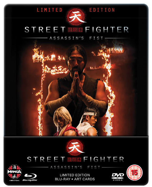 Street Fighter - Assassin's Fist Limited Edition Steelbook (D) Live Action Blu-Ray