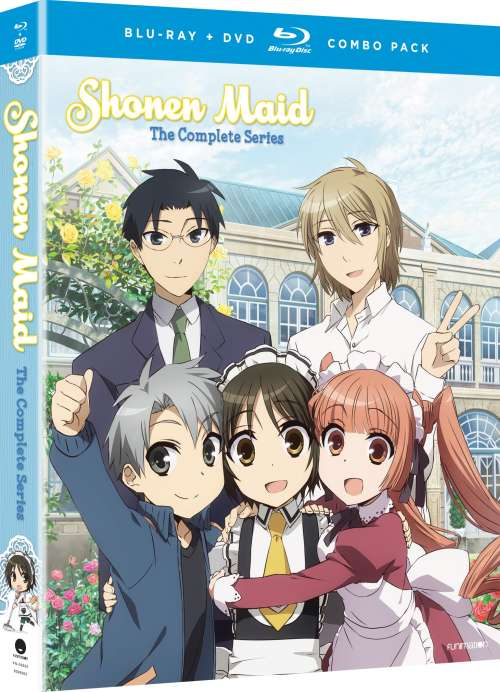 Shonen Maid (Hyb) DVD/Blu-ray