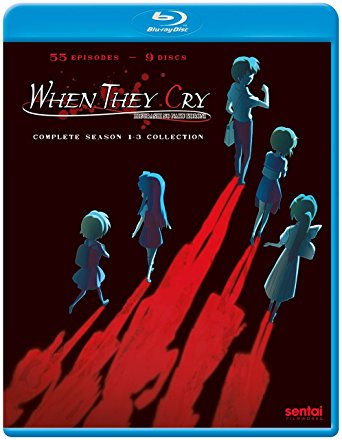 When They Cry Complete Series (S) Blu-ray