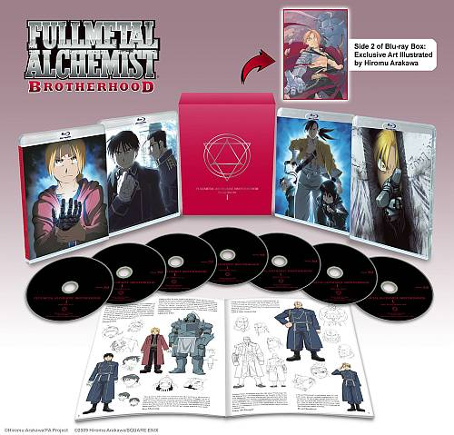 Fullmetal Alchemist Brotherhood Box Set 1 (Hyb) Blu-ray