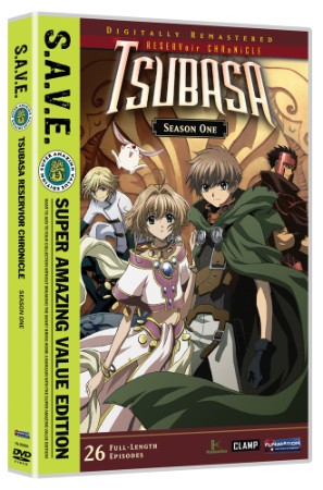 Tsubasa, RESERVoir CHRoNiCLE Season 1 Complete (Hyb) - S.A.V.E. Edition