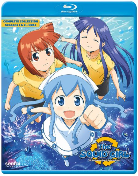 The Squid Girl (Hyb) Blu-ray