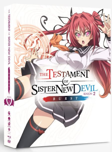 Testament of Sister New Devil BURST Season 2 + OVA (Hyb) Limited Edition DVD/Blu-ray