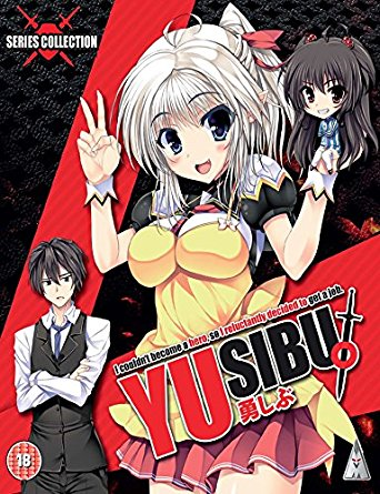Yusibu [I Couldn't Become A Hero, So I Reluctantly Decided To Get A Job] Collection (S) Blu-Ray