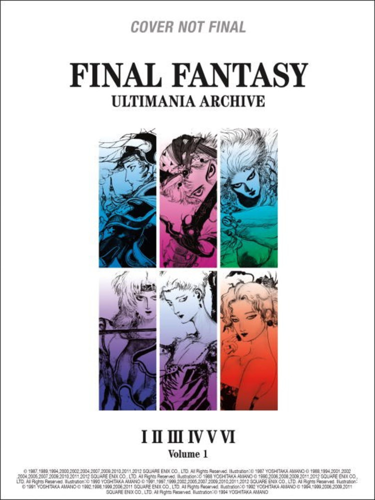 Final Fantasy Ultimania Archive Artbook  1 (L) (Hardcover)