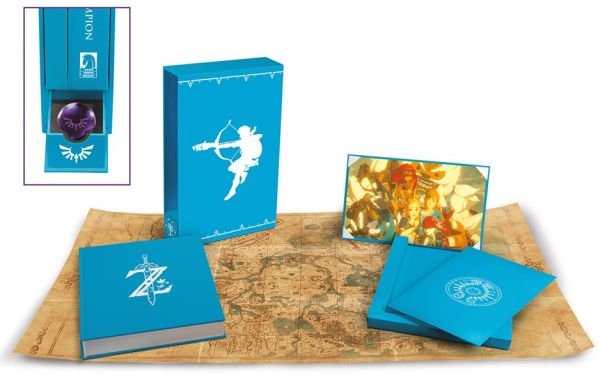 Zelda: The Legend of Zelda Breath of the Wild Creating a Champion Hero's Edition (Hardcover)